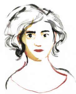 Leticia Ruifernández, autora de Dos hermanas ~ Two sisters